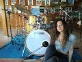 JOURNEY - SEPARATE WAYS (WORLDS APART) - DRUM COVER by CHIARA COTUGNO