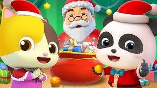 Jingle Bells | 最新聖誕節兒歌童謠 | 卡通 | 動畫 | 寶寶巴士 | BabyBus