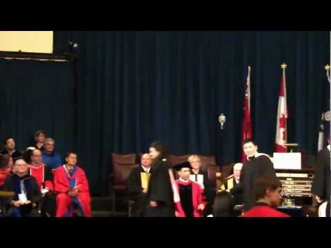 University of Toronto Graduation Ceremony - Commerce 2011
