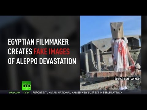 Fake Aleppo: Egyptian filmmaker charged with spreading false news on Syrian war