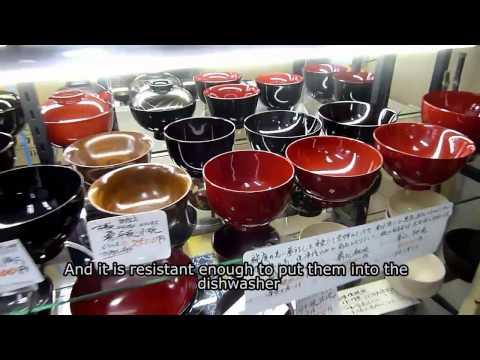 Japanese Lacquer : Nishiyama Shikki 西山漆器