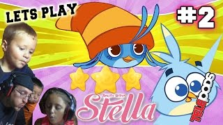 Lets Play Angry Birds STELLA #2: Wolverine & Pillows! (Daddy Daughter Face Cam) Telepods