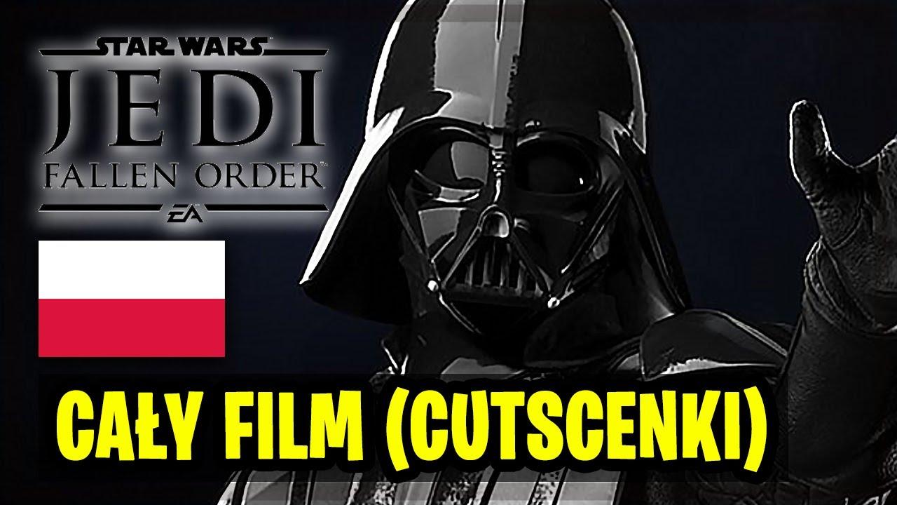 Star Wars Jedi Upadły zakon - Cały  Wszystkie Cutscenki Po Polsku | Fallen Order PL