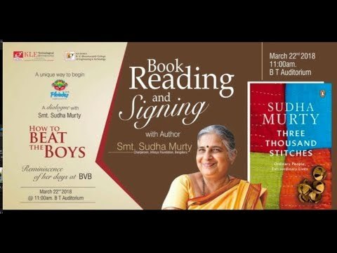 A dialogue with Smt. Sudha Murthy