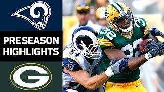 Rams vs. Packers | NFL Preseason Week 4 Game Highlights