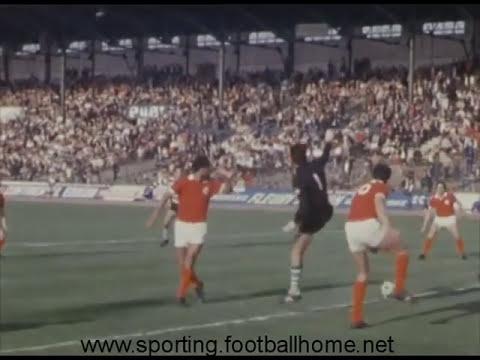 Benfica - 1 x Sporting - 3 em 12/04/1971 Taça Emigrante (Páscoa) em Paris