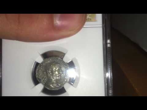 Ancient Roman Coin Won From Auction!