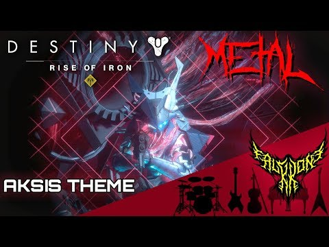 Destiny: Rise of Iron - Eyes Up (Aksis Theme) 【Intense Symphonic Metal Cover】