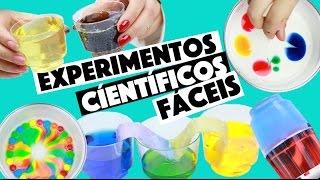 IDEIAS INCRÍVEIS PARA FAZER EM CASA #4 - EXPERIMENTOS CIENTÍFICOS!!! ?   KIM ROSACUCA