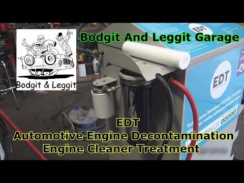 EDT Automotive Engine Decontamination Bodgit And Leggit Garage