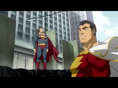ANIMATED REVIEWS Superman/Shazam!: The Return of Black Adam streaming vf