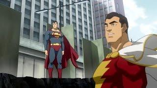 ANIMATED REVIEWS Superman/Shazam!: The Return of Black Adam
