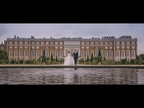 """Princess"" - a gorgeous Persian Wedding at Hampton Court Palace"