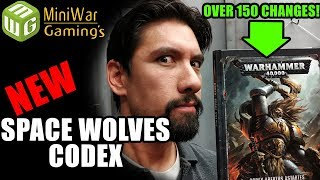 NEW Space Wolves Codex Review (Over 150 Changes!!!)