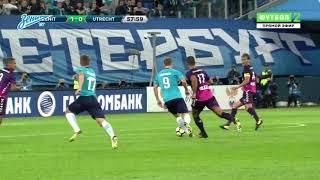 «Зенит» — «Утрехт»: полный обзор матча на «Зенит-ТВ»