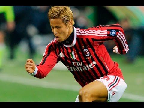Keisuke Honda Welcome to AC Milan Skills & Goals - YouTube