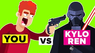 YOU vs KYLO REN - How Can You Defeat and Survive Him (Disney Star Wars Movies)