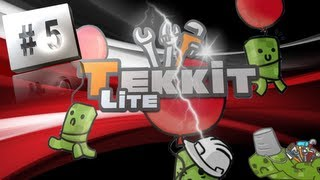 Tekkit Lite 5 - Project Table And Power Running Low