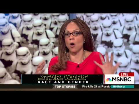 """Harris-Perry has 'many feelings' about how Darth Vader's """"totally a black guy"""" until he becomes good"""