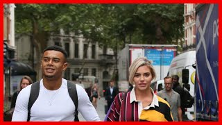 Wes Nelson and Megan Barton Hanson step out hand in hand as Love Island relationships begin to