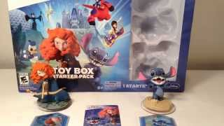 Disney Infinity 2.0 Toy Box Starter Pack Review [Wii U]