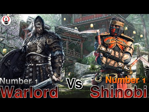 For Honor - Number 1 Ranked Warlord Vs Number 1 Ranked Shinobi On Xbox!