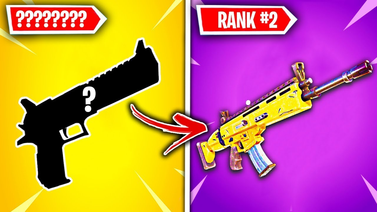 Download Top 10 LEGENDARY Fortnite Weapons RANKED WORST TO BEST!