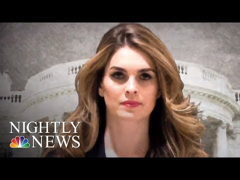 Hope Hicks Resigns As President Trump's White House Communications Director | NBC Nightly News