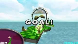Super Monkey Ball Adventure - Full Completion (True 100%) Speedrun in 1:56:00 [World Record]