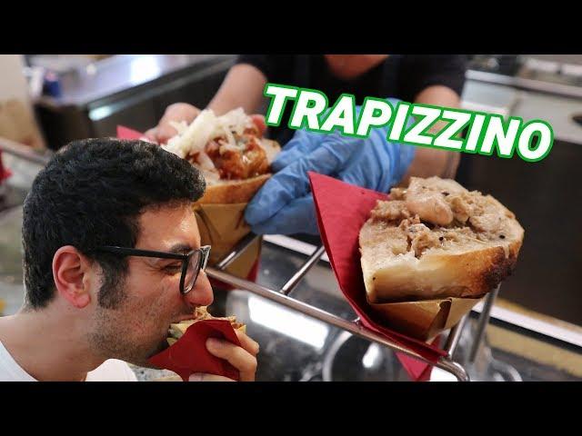 Mangio il Trapizzino per la prima volta - FOOD VLOG ROMA - Vlog #09 ITALIA