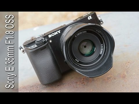 Sony 35mm f1.8 OSS Lens SEL35f18 reviewed on the Sony a6000