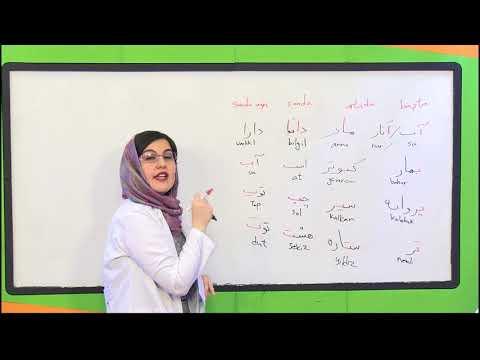 Farsça Alfabe Örnekleri