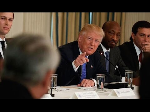 CEOs Try To Explain The Economy To Trump