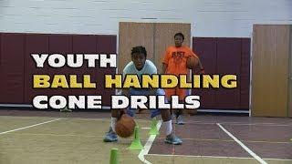 Youth Ball Handling Cone Drills - Coach Godwin Ep: 103