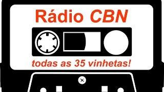 VINHETAS RÁDIO CBN - COMPLETO ! COLEÇÃO DE TODAS AS 35, ANTIGAS E NOVAS