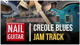 E | Creole Blues | Guitar Jam Track