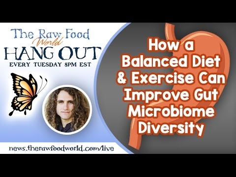 Hangout: How a Balanced Diet & Exercise Can Improve Gut Microbiome Diversity