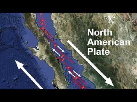 A New MEGA Fault Found Beneath California - Current News March 2017