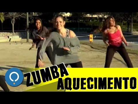 AQUECIMENTO de ZUMBA Fitness para INICIANTES