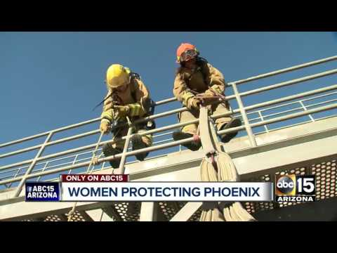 Phoenix Fire Department working to recruit female firefighters