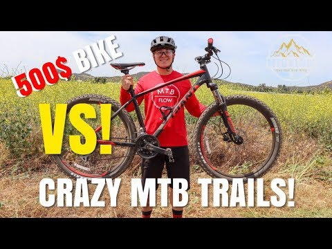 THE ULTIMATE CHEAP BIKE TEST! | RIDING A GIANT TALON 3 ON MY LOCAL TRAILS