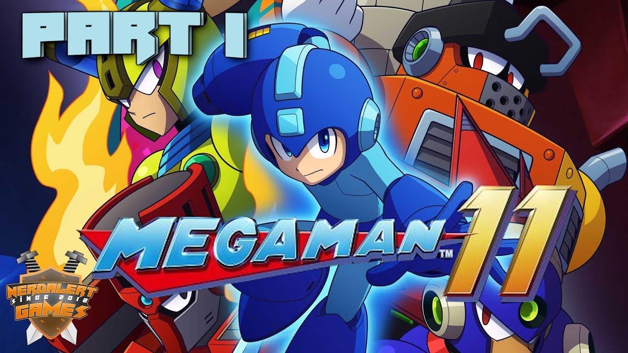 megaman 11 gameplay deutsch part 1 wie damals