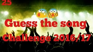 guess that song challenge 2016 17 24 songs