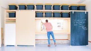 DHZ Garage Opslag Planken / Deel 2 | doe het zelf Stal Deuren
