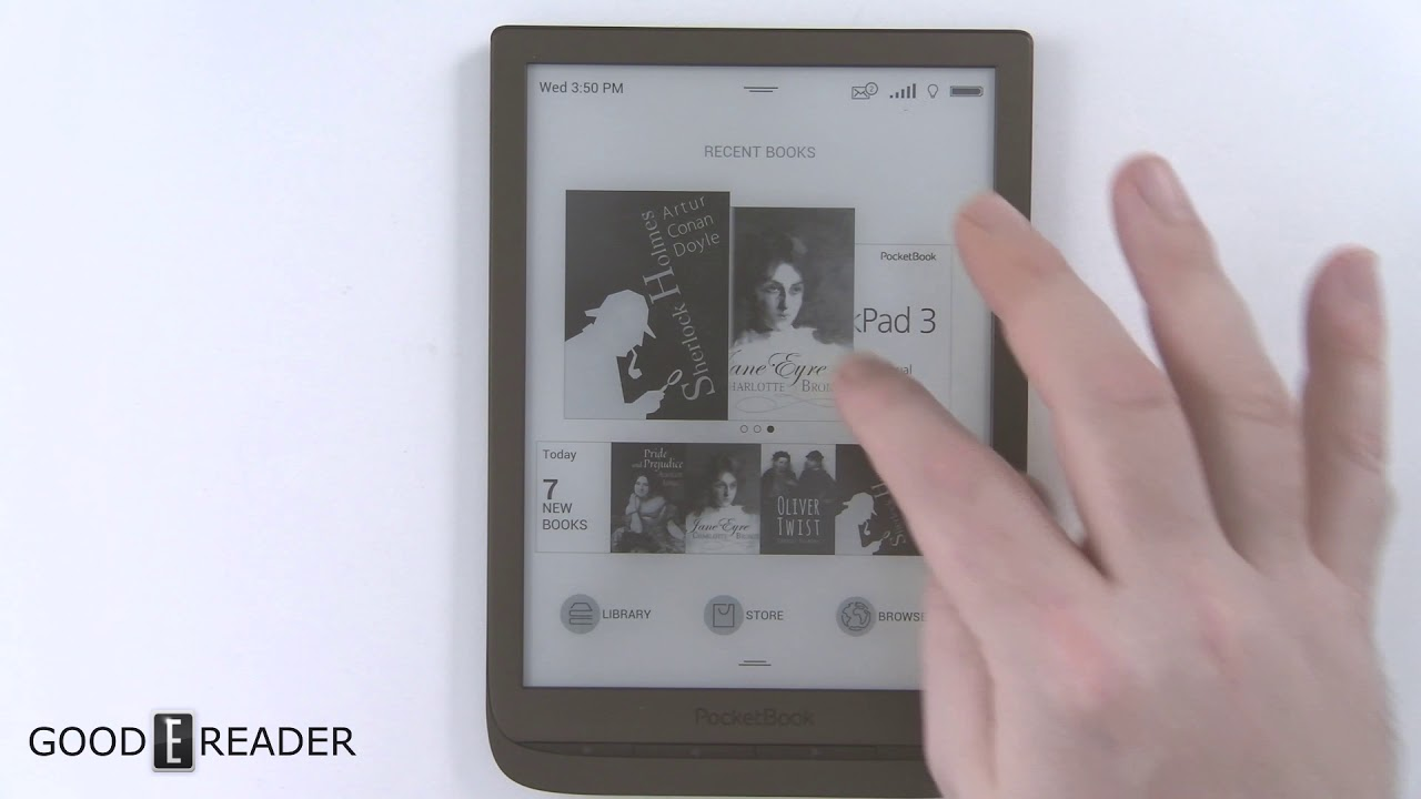 Pocketbook Inkpad 3 eReader Review
