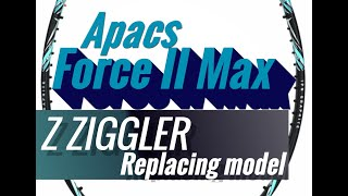 Exclusive Apacs Force II Max New Launch Z Ziggler Replacement Badminton Racket Top Demand バドミントンラケット