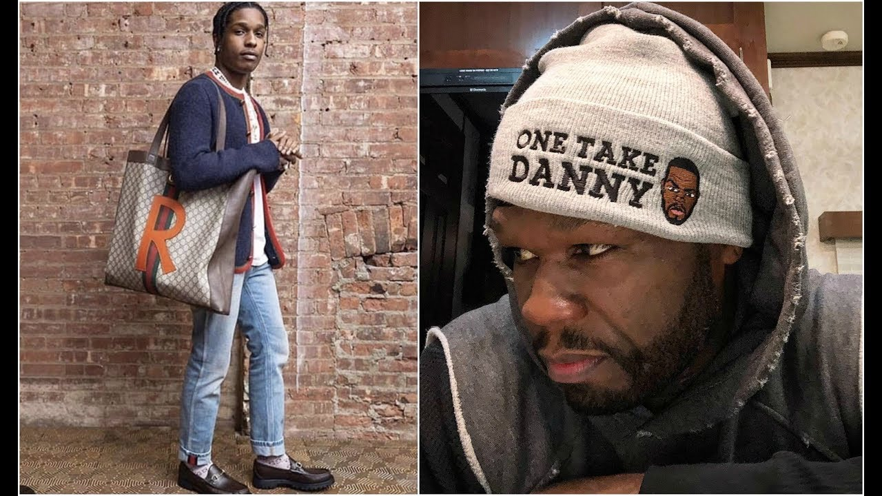 529c14700657 50 Cent ROAST ASAP Rocky For Wearing A Purse - YouTube
