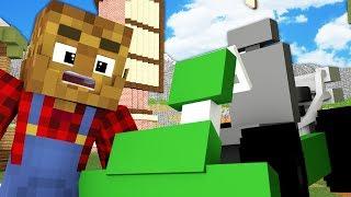 MINECRAFT FARMYARD PALS - RACE PREP (Minecraft Roleplay Animation)