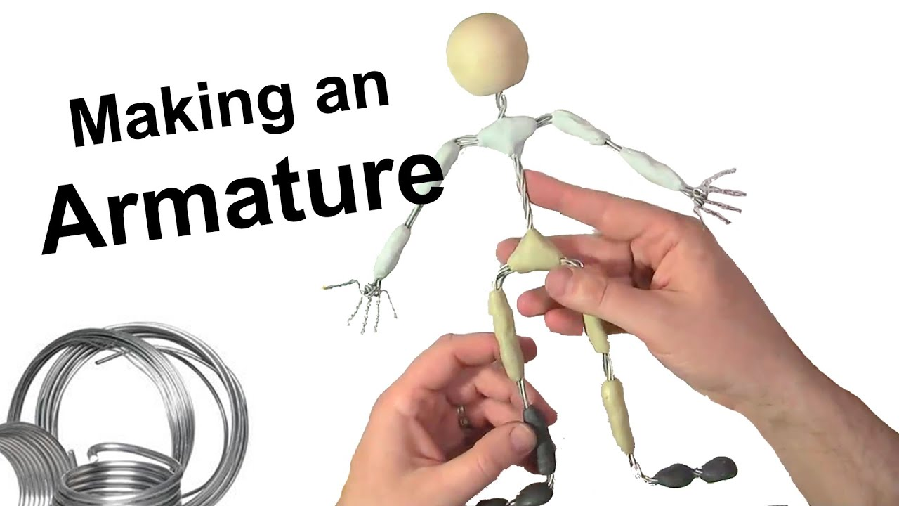 Stop Motion Tutorial: Making an Armature - YouTube