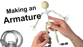 Stop Motion Tutorial:  Making an Armature